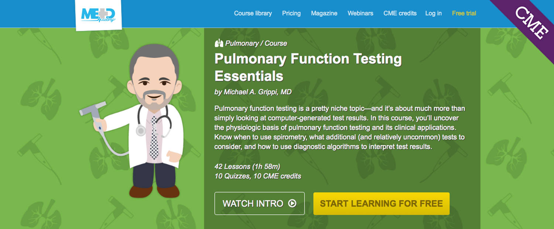 Pulmonary Function Testing Essentials